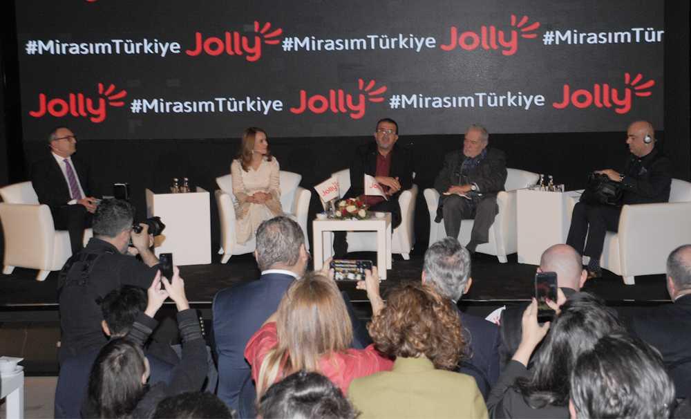 """JOLLY gelecek nesiller için """"Mirasım Türkiye"""" dedi"""