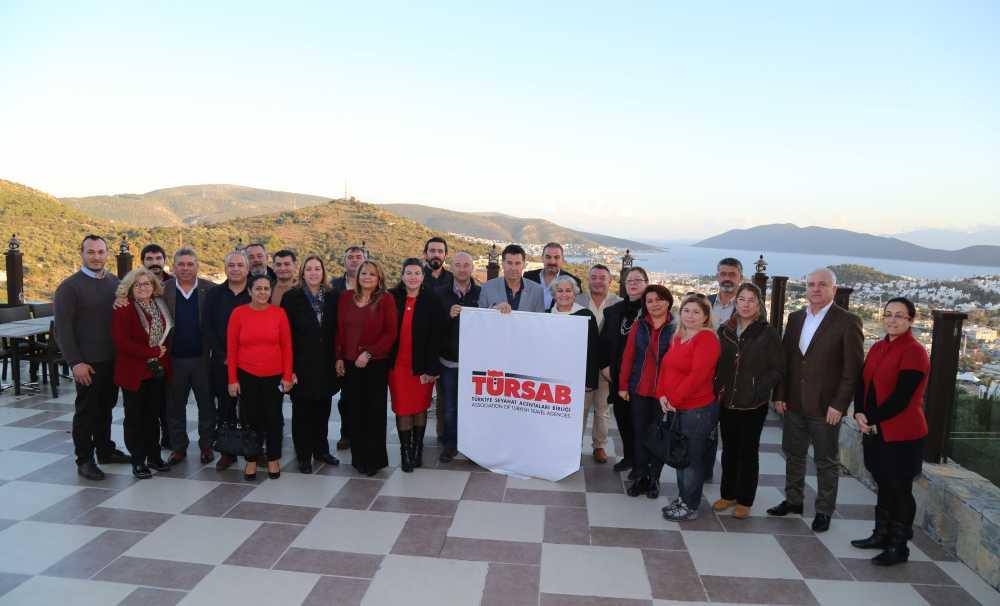 Bodrum Belediye Başkanı ve TÜRSAB Üyeleri Bodrum Turizmi için Bir Araya Geldi