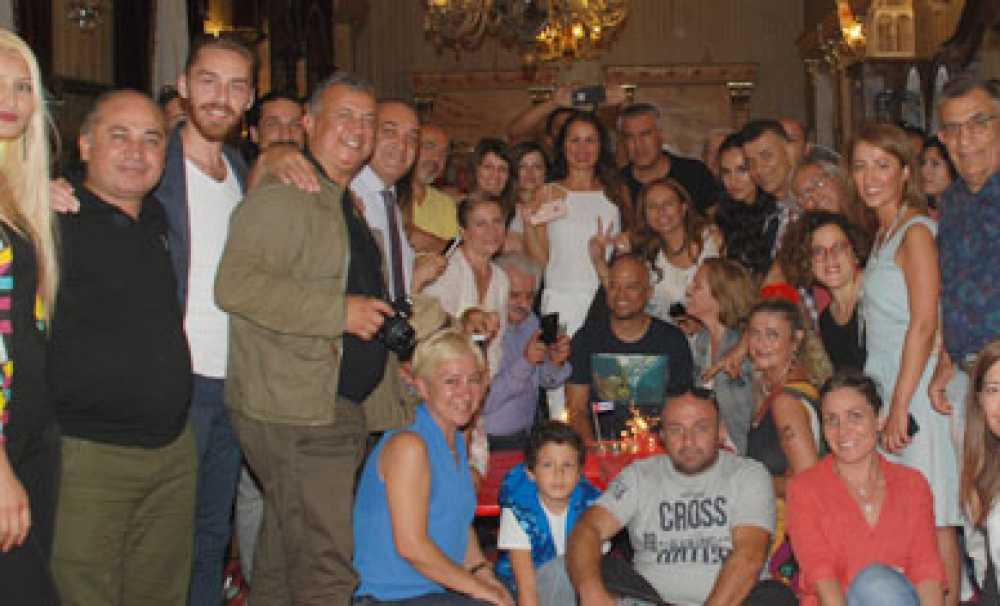 FİDEL CASTRO'nun 90. yaşı Küba Kültür Derneği tarafından İstanbul'da kutlandı