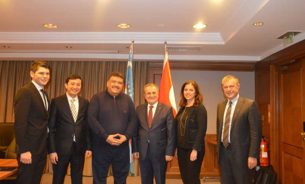 Kurbanovich, Türkiye'nin tecrübelerinden faydalanmak istediklerini söyledi