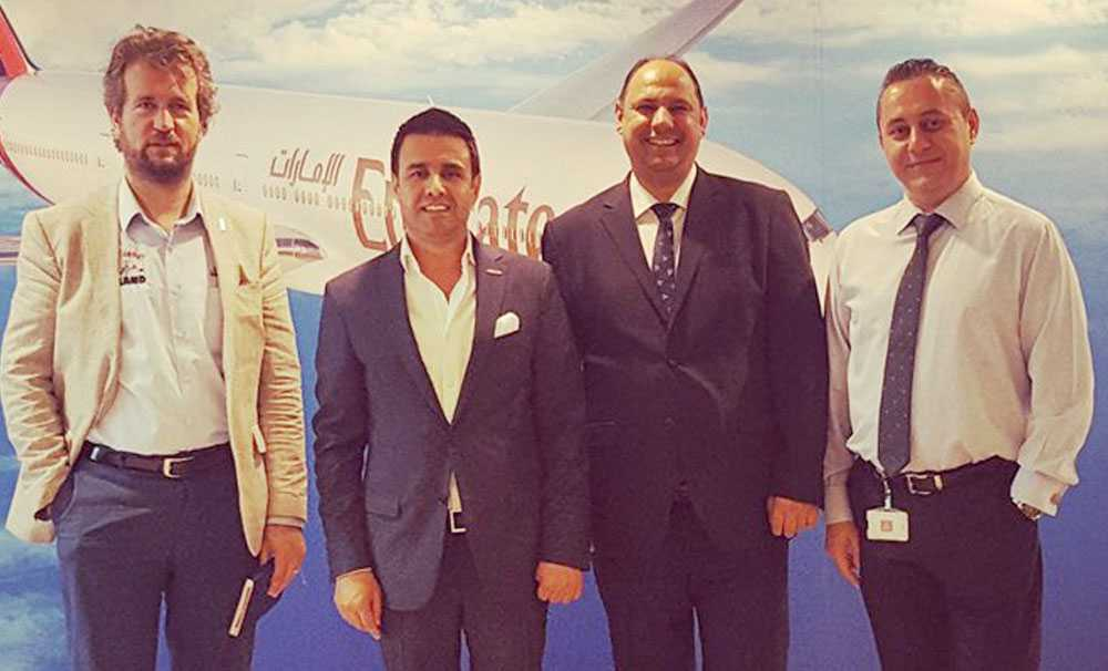 OTSAD, EMİRATES Hava Yolları arasında işbirliği anlaşması yaptı