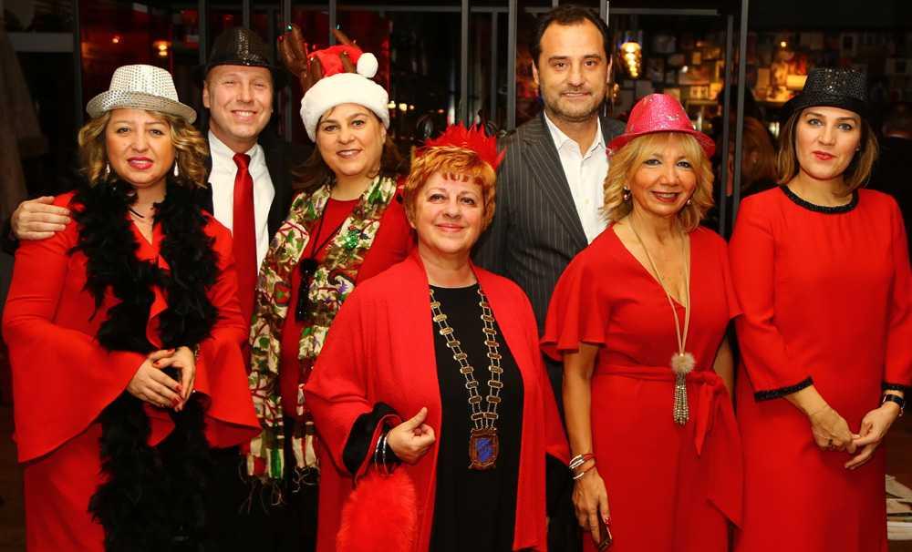 Skal Internatıonal İstanbul, Kırmızı Yılbaşı Partisi'nde buluştu