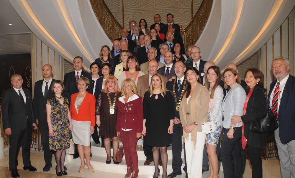 Skal İstanbul üyeleri, Elite World Europe Hotel'de buluştu