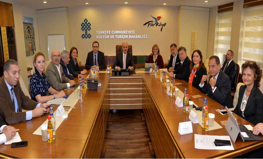 TTYD Yönetim Kurulu Ankara'da temaslarda bulundu