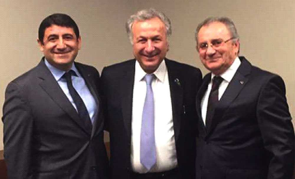 TÜROB Başkanı Bayındır TÜRSAB Başkanı Ulusoy ile bir araya geldi...