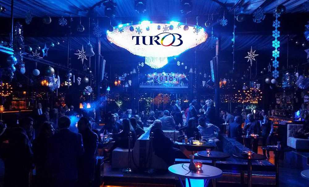 TUROB'un yılbaşı partisi Sortie Club Kuruçeşme'de gerçekleşti