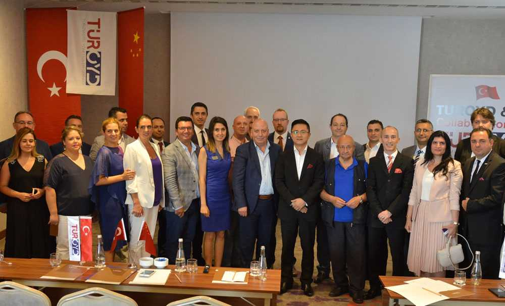 TUROYD-ÇİN BTL Hospitality projesi İmzalandı