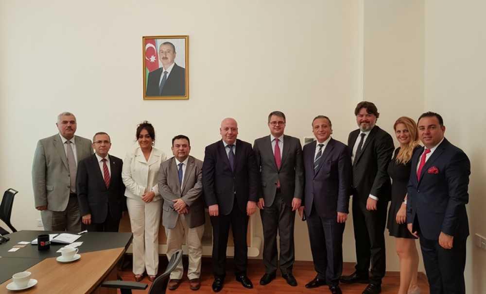 TUROYD heyeti Azerbaycan'da üst düzey temaslarda bulundu