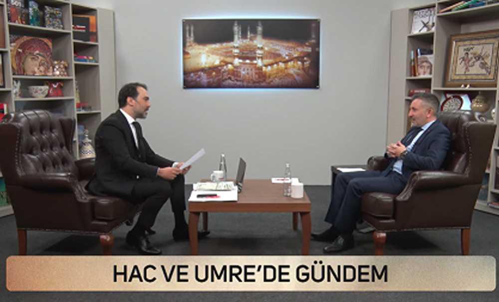 TÜRSAB TV'DE HAC ÜMRE TURİZMİ KONUŞULDU