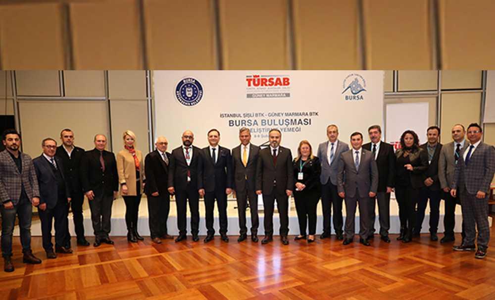 TÜRSAB Üyesi Seyahat Acentaları Bursa'da bir araya geldi