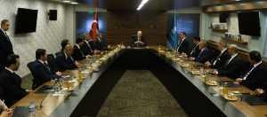 TÜRSAB Heyeti Bakanı Kurtulmuş'u ziyaret etti
