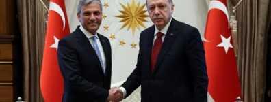 TÜRSAB Heyeti Cumhurbaşkanı Erdoğan'ı Ziyaret Etti
