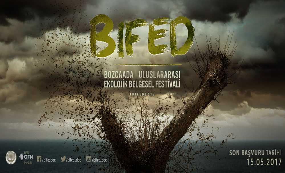 BIFED Bozcaada Uluslararası Ekolojik Belgesel Festivali'ne başvurular devam ediyor