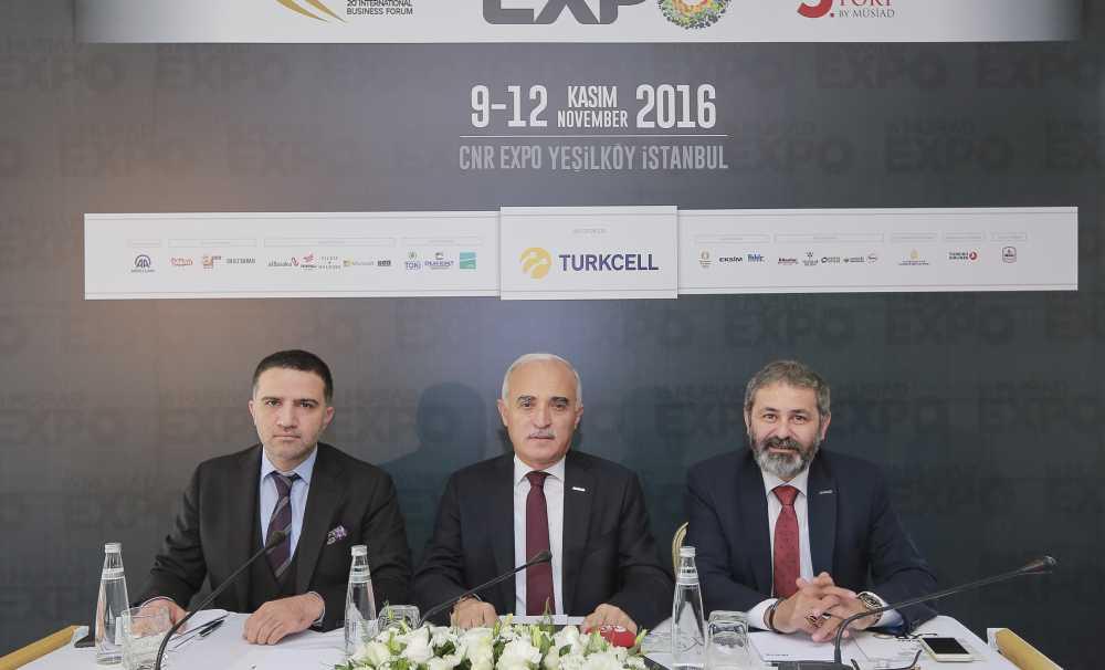 16.MÜSİAD EXPO İstanbul CNR Fuar Merkezi'nde başlıyor