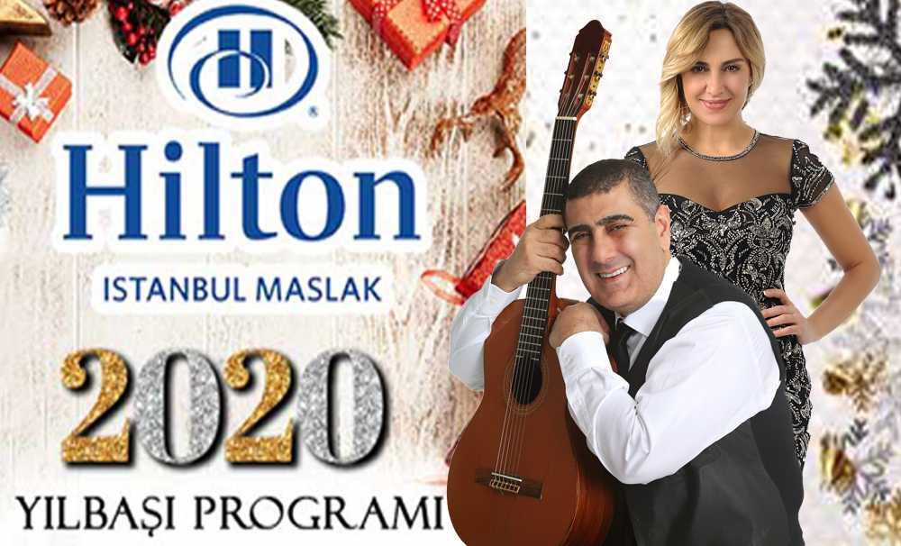 2020'nin İlk Işıkları Hilton Istanbul Maslak'ta Yanacak