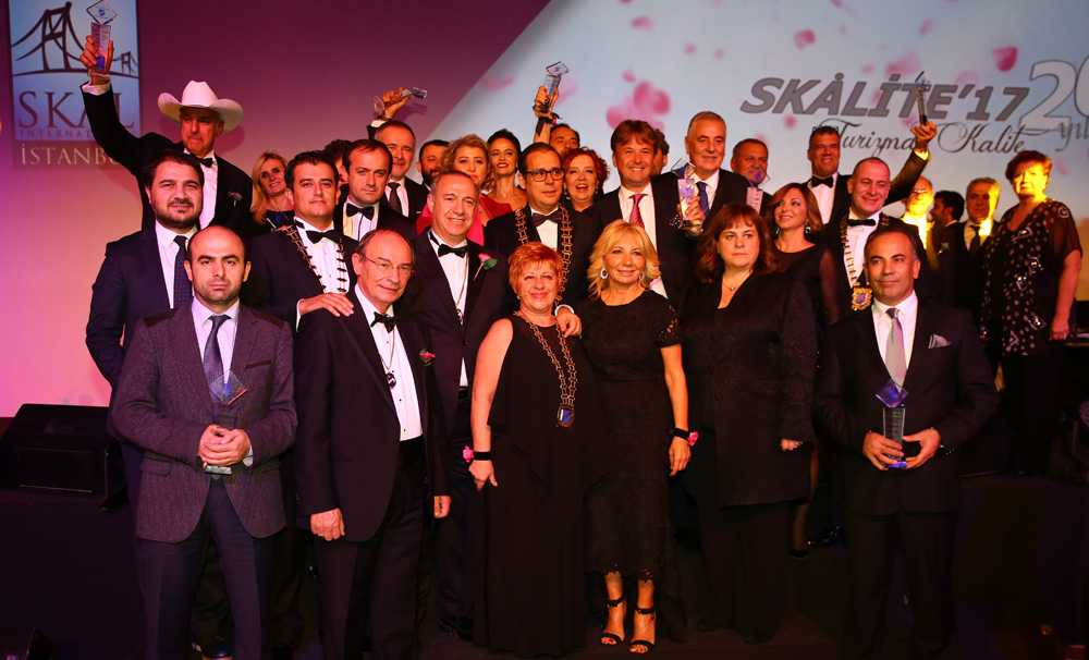 20.'si düzenlenen 2017 Skalite Ödülleri sahiplerini buldu