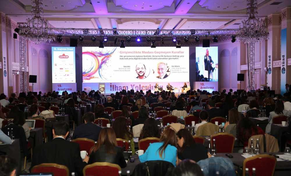 Araştırma sektörü 20. kez İstanbul'da buluşacak