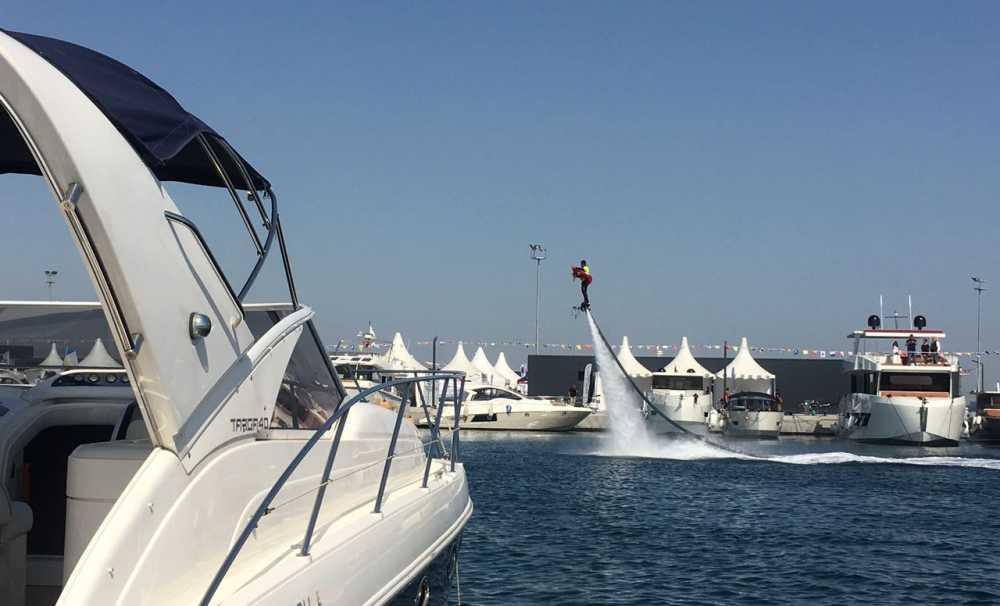 Fuar, Ataköy Marina Mega Yat Limanı'nda 7 Mayıs'a kadar devam edecek