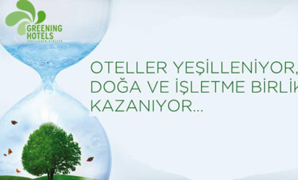 Greening Hotels Sertifikası Bilgilendirme Semineri Eskişehir'de düzenlenecek