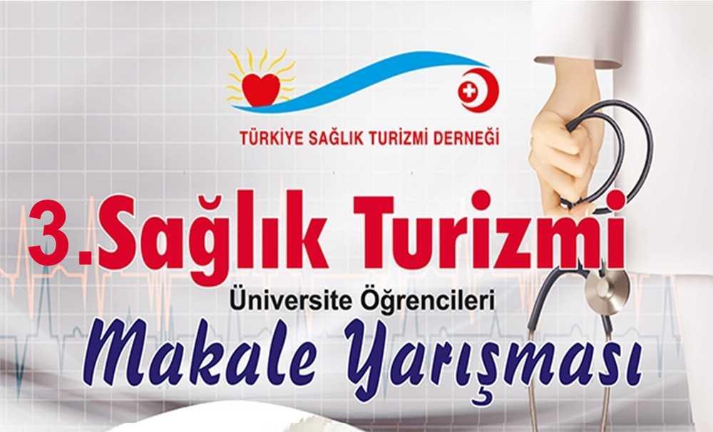 III. Ulusal Sağlık Turizmi Makale Yarışması Başlıyor