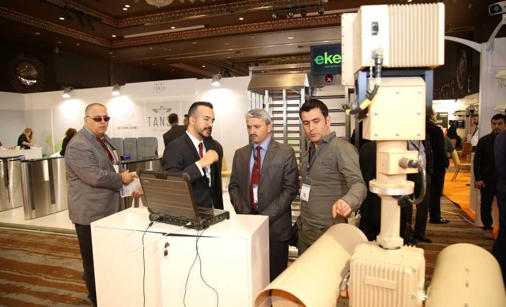 ISAF Exclusive Fuarı ve Konferansı,Ankara Sheraton Hotel'de açıldı