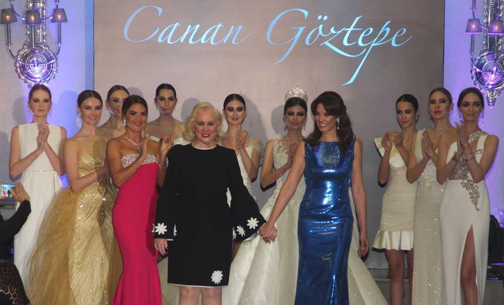 Modacı Canan Göztepe'den Muhteşem Defile