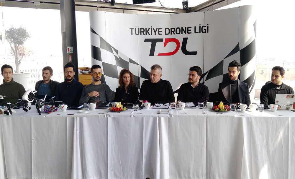 'Türkiye Drone Ligi '' Türkiye'de İlk Defa Düzenlenecek