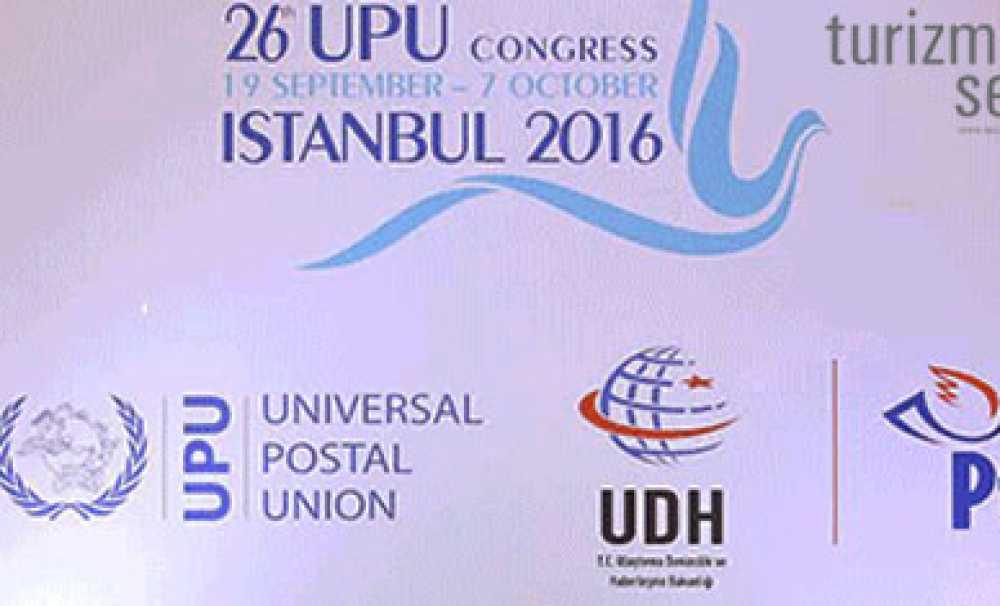 26.Dünya Posta Kongresi, Hilton İstanbul Bomonti Otel ve Konferans Merkezi'nde