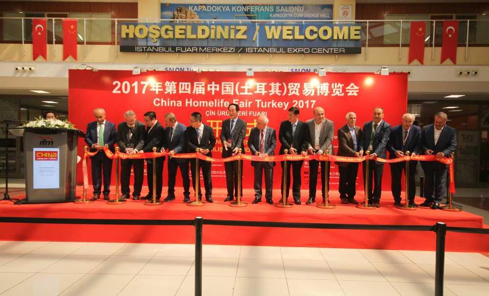 3.Çin Ürünleri Fuarı Açıldı