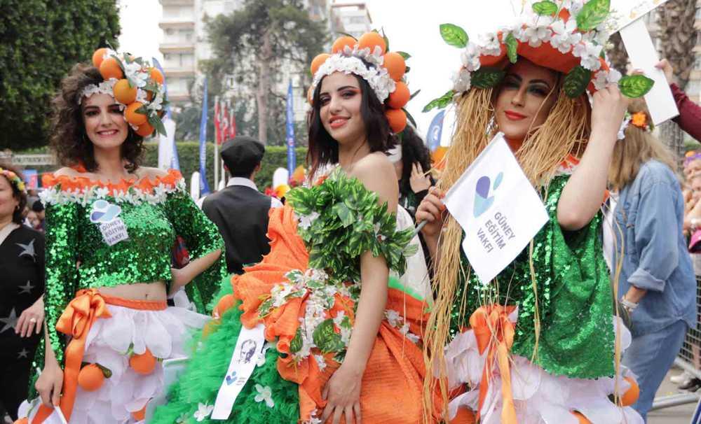 Adana Uluslararası Portakal Çiçeği Karnavalı başlıyor