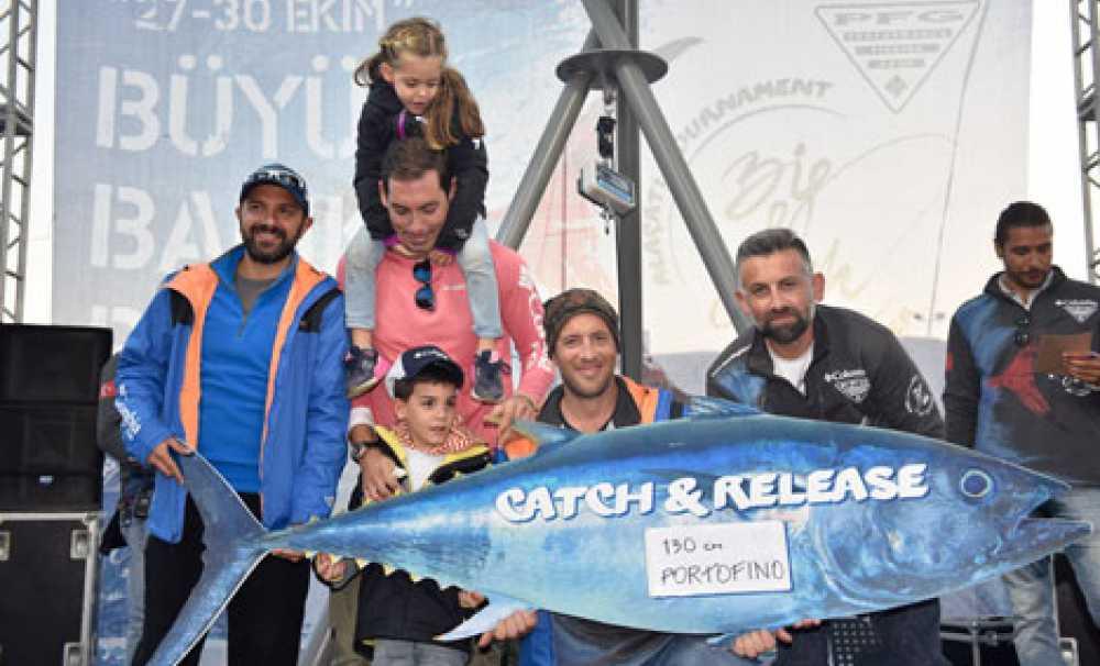 Columbia PFG Alaçatı Big Fish Turnuvası yakala-bırak rekoru kırdı