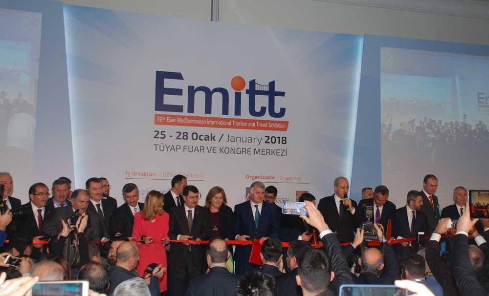 EMITT 2018'de 22'inci kez kapılarını açtı