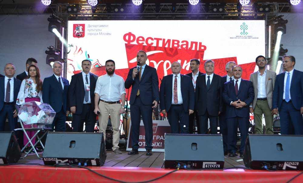 Moskova'daki Türkiye Festivali, muhteşem başladı