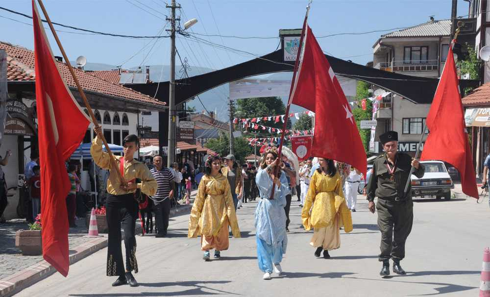 Mudurnu'da festival heyecanı