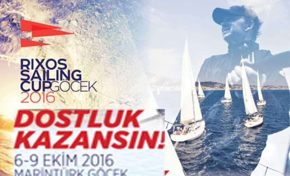 Rixos Sailing Cup Göcek 2016, 30 tekne ve 200 sporcunun katılımıyla gerçekleşecek
