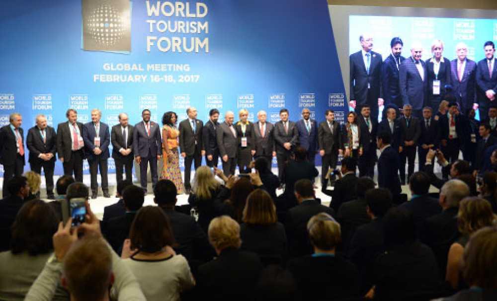 "Turizmin Davos'u ""World Tourısm Forum"" Açıldı"