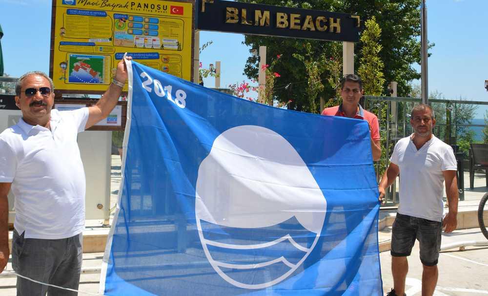 Bilem Beach'de Mavi Bayrak dalgalanacak
