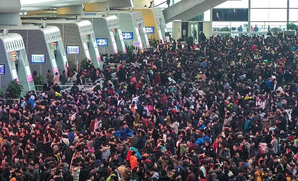 Çin yeni yılında 7 milyon kişi yurtdışına çıkacak