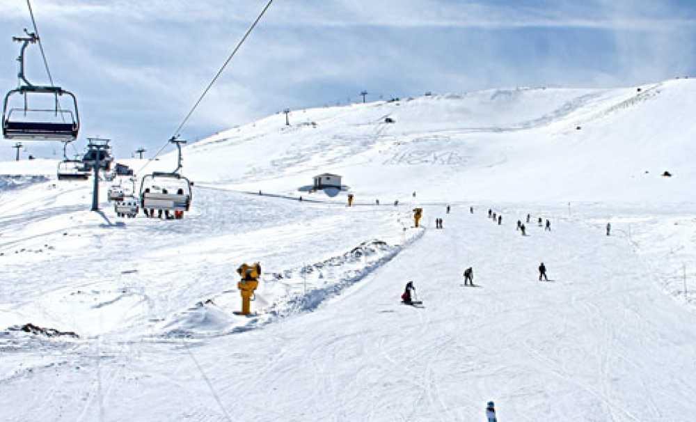 Erciyes Kayak Merkezi'ne, yılbaşında ilgi büyük…