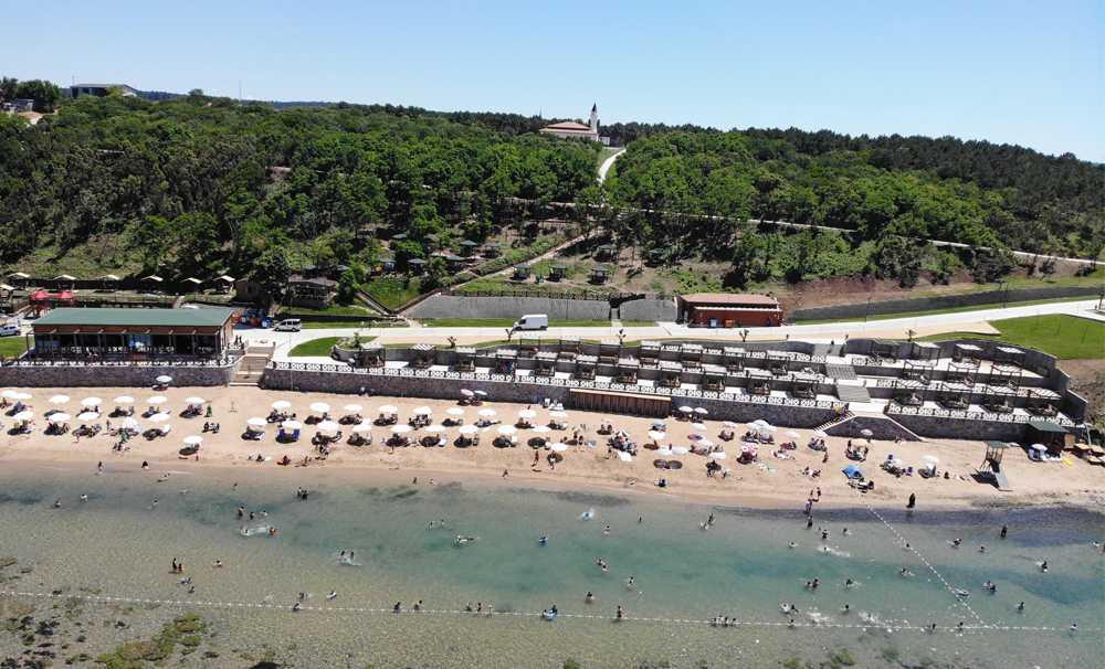 İstanbul'da kadınlara özel plaj açıldı