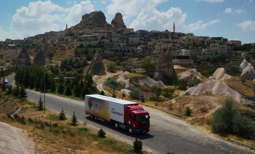 Kapadokya İstanbul Caddebostan'da görücüye çıkıyor