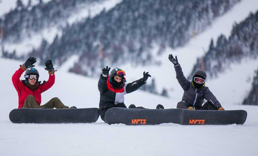 Kış turizminin geleceği çocukların elinde!