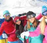 Erciyes 2020 kayak sezonunu erken açtı