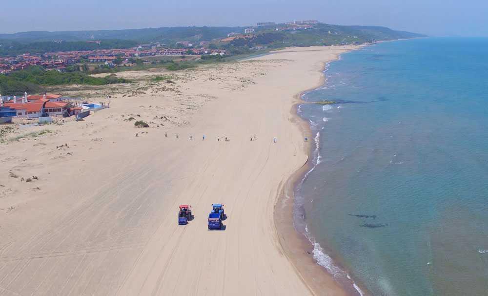 İSTAÇ İstanbul plajlarını yeni sezona hazırlıyor