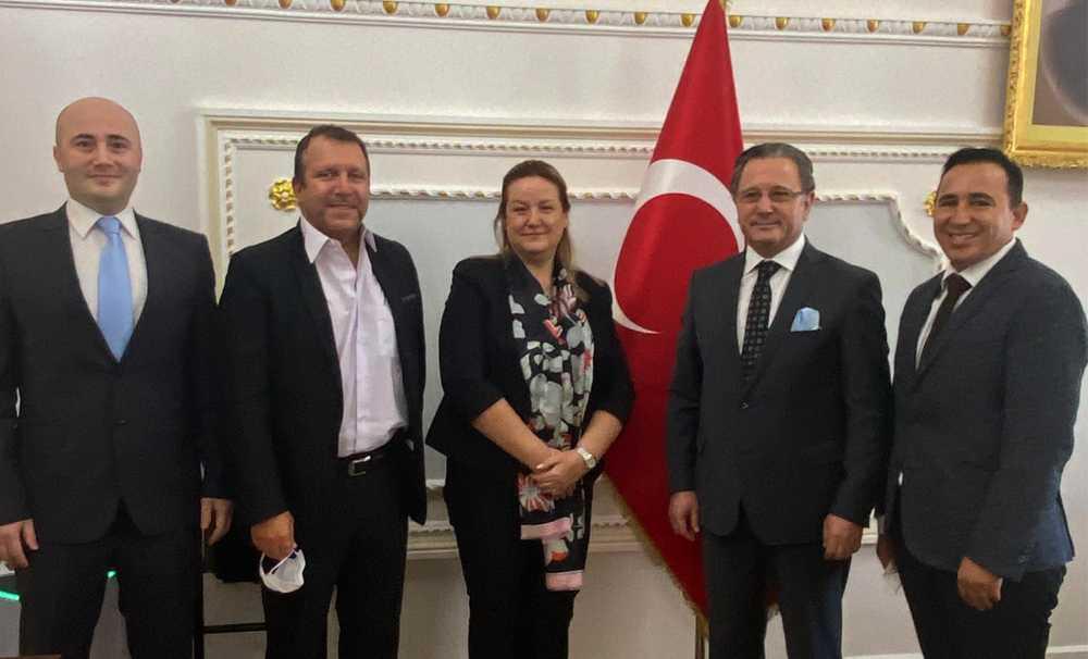 İSTTA YK Üyelerinden İstanbul Valilik ziyareti