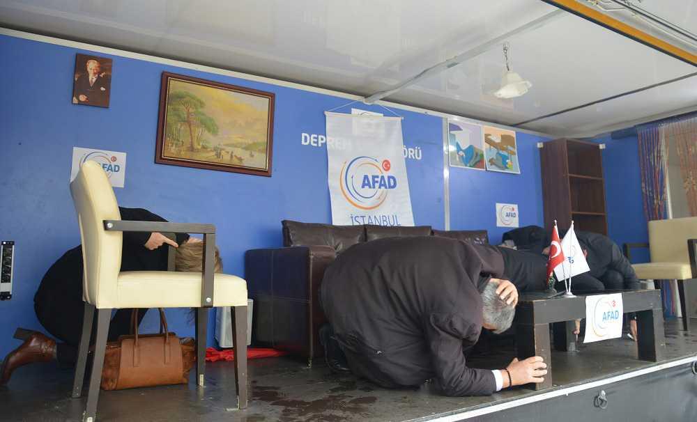 Otellerde deprem eğitimi seferberliği