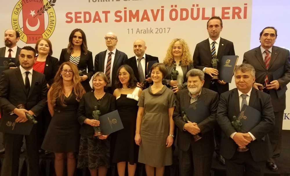 Türkiye Gazeteciler Cemiyeti (TGC) Sedat Simavi Ödülleri sahiplerini buldu