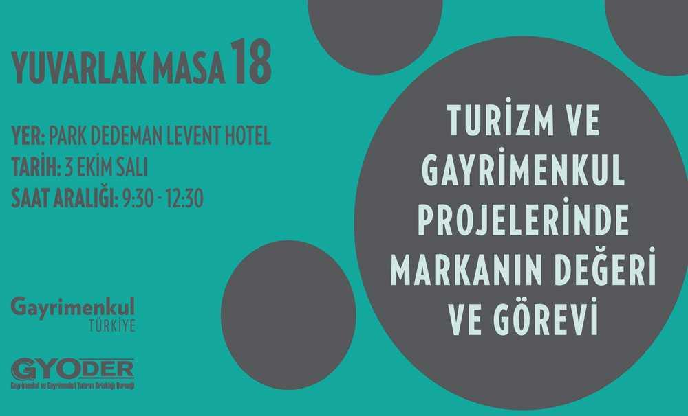 'Türkiye'de turizmin geleceği', Yuvarlak Masa toplantısında ele alınacak