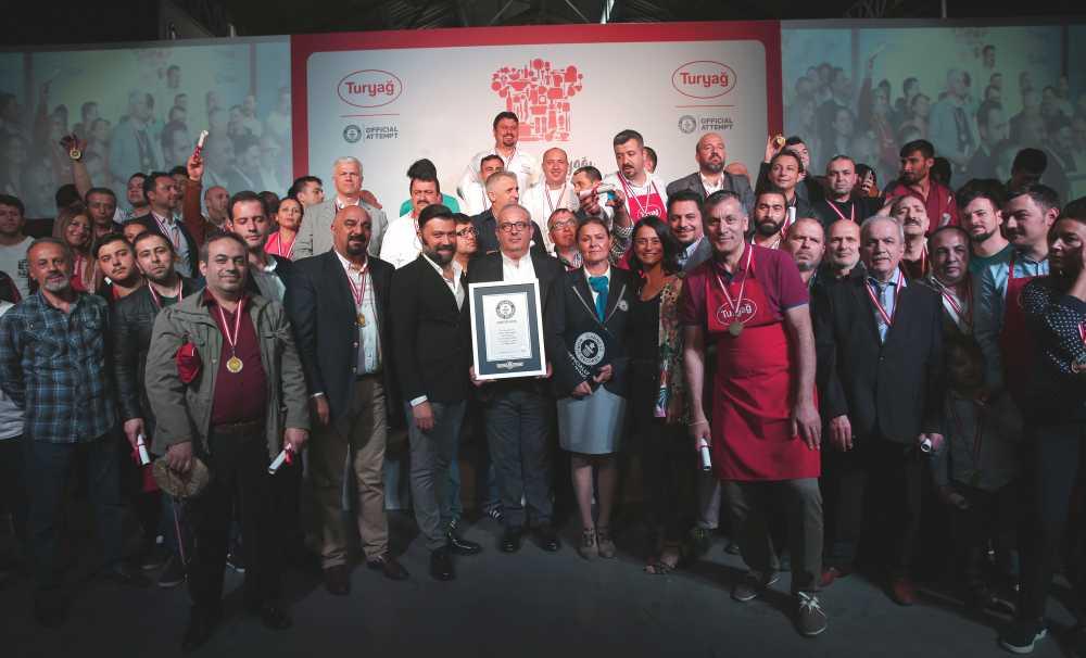 Turyağ, Türkiye'nin Ustaları'yla Guinness Dünya Rekoru kırdı