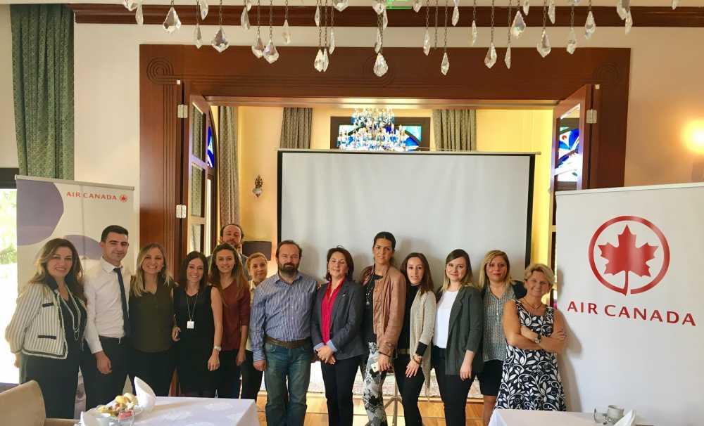 Air Canada, Bursa'daki iş ortakları seyahat acenteleri ile buluştu